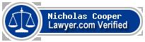 Nicholas Allen Cooper  Lawyer Badge