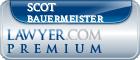 Scot Lee Bauermeister  Lawyer Badge