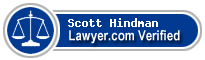 Scott Allen Hindman  Lawyer Badge