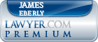James Charles Eberly  Lawyer Badge