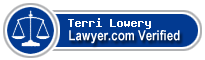Terri Ann Lowery  Lawyer Badge