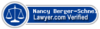 Nancy Faye Berger-Schneider  Lawyer Badge