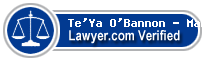 Te'Ya T. O'Bannon - Martens  Lawyer Badge