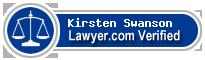 Kirsten Swanson  Lawyer Badge
