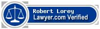 Robert M. Lorey  Lawyer Badge