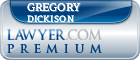 Gregory Clinton Dickison  Lawyer Badge