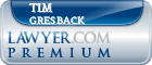 Tim Gresback  Lawyer Badge