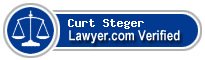 Curt Steven Steger  Lawyer Badge