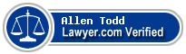 Allen M. Todd  Lawyer Badge