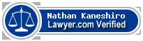 Nathan Tadashi Kaneshiro  Lawyer Badge