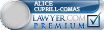 Alice Miriam Cuprill-Comas  Lawyer Badge
