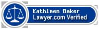 Kathleen Michelle Baker  Lawyer Badge
