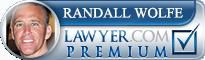 Randall J. Wolfe  Lawyer Badge