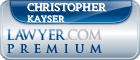 Christopher J. Kayser  Lawyer Badge