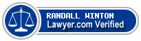 RANDALL K. WINTON  Lawyer Badge