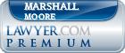 Marshall Holman Moore  Lawyer Badge