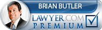 Brian Butler  Lawyer Badge