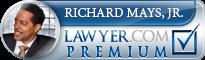 Richard L. Mays  Lawyer Badge