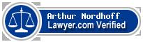 Arthur Charles Nordhoff  Lawyer Badge