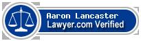 Aaron D. Lancaster  Lawyer Badge