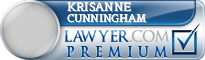 Krisanne S. Cunningham  Lawyer Badge