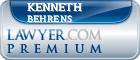Kenneth Bernard Behrens  Lawyer Badge