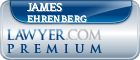 James Frank Ehrenberg  Lawyer Badge
