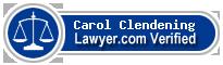 Carol A. Clendening  Lawyer Badge