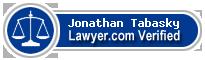 Jonathan F. Tabasky  Lawyer Badge