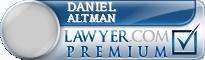 Daniel Baxter Wann Altman  Lawyer Badge