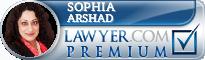 Sophia Jabin Arshad  Lawyer Badge