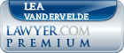 Lea S. VanderVelde  Lawyer Badge