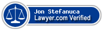Jon Simon Stefanuca  Lawyer Badge