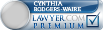 Cynthia E Rodgers-Waire  Lawyer Badge