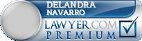 Delandra Mae Navarro  Lawyer Badge
