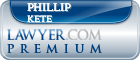 Phillip R Kete  Lawyer Badge