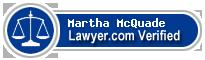 Martha JP McQuade  Lawyer Badge