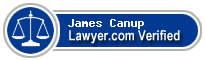 James William C. Canup  Lawyer Badge