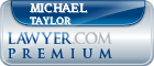 Michael Raymond Taylor  Lawyer Badge