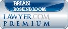 Brian Scott Rosenbloom  Lawyer Badge