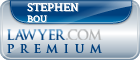 Stephen Alfred Bou  Lawyer Badge