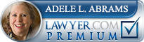 Adele Lois Abrams  Lawyer Badge