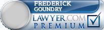 Frederick William Goundry  Lawyer Badge