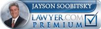 Jayson Aaron Soobitsky  Lawyer Badge