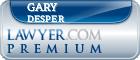 Gary Wayne Desper  Lawyer Badge