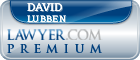 David G. Lubben  Lawyer Badge