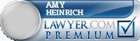 Amy B Heinrich  Lawyer Badge