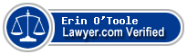 Erin M. O'Toole  Lawyer Badge