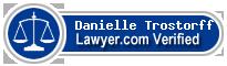 Danielle Lombardo Trostorff  Lawyer Badge