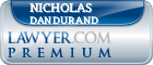 Nicholas Herbert Dandurand  Lawyer Badge